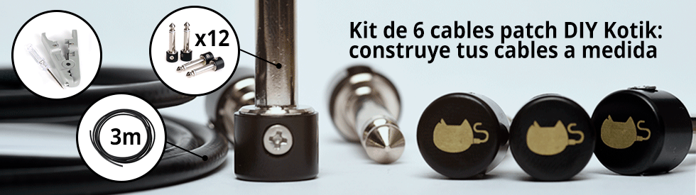 Kit de cables patch DIY