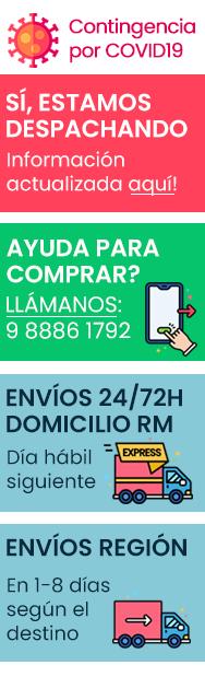 Si necesitas ayuda con tu compra, llámanos. Envíos a todo Chile en 24/48h con Starken