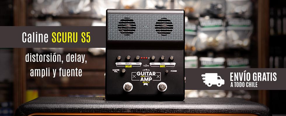 Caline Scuru S5 para guitarra y bajo